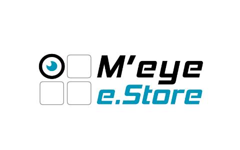 M'eye e.store logo